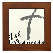 Ash Wednesday Framed Tile