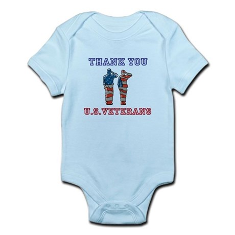 Thanks to our U.S. Vets Infant Bodysuit