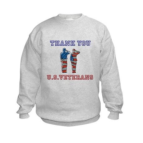 Thanks to our U.S. Vets Kids Sweatshirt