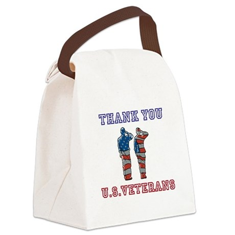 Thanks to our U.S. Vets Canvas Lunch Bag