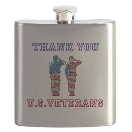 Thanks to our U.S. Vets Flask