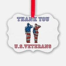 Thanks to our U.S. Vets Ornament