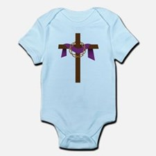 Season Of Lent Cross Infant Bodysuit