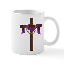 Season Of Lent Cross Mug