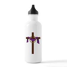 Season Of Lent Cross Water Bottle