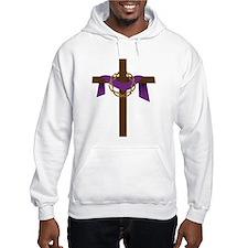 Season Of Lent Cross Hoodie