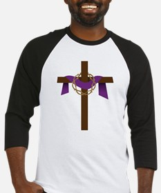 Season Of Lent Cross Baseball Jersey