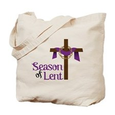 Season Of Lent Tote Bag
