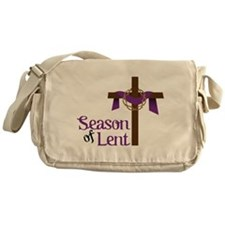 Season Of Lent Messenger Bag