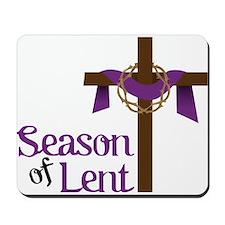 Season Of Lent Mousepad