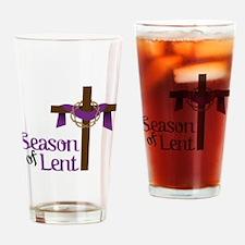 Season Of Lent Drinking Glass
