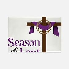 Season Of Lent Rectangle Magnet