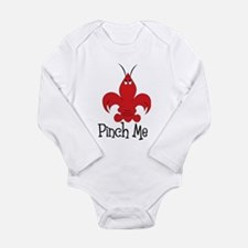 Pinch Me Long Sleeve Infant Bodysuit