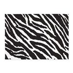 Zebra Stripes Rug 5'x7'Area Rug