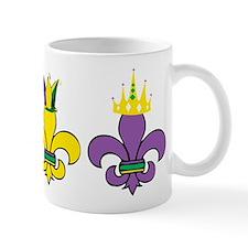 Mardi Gras Small Mugs
