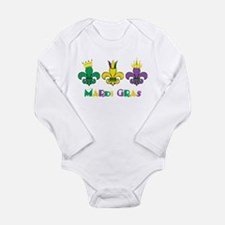 Mardi Gras Royalty Party New Orleans Long Sleeve I