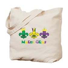 Mardi Gras Royalty Party New Orleans Tote Bag