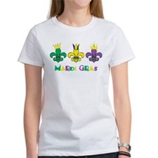 Mardi Gras Royalty Party New Orleans Tee