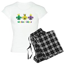 Mardi Gras Royalty Party New Orleans Pajamas