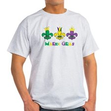 Mardi Gras Royalty Party New Orleans T-Shirt