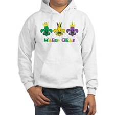 Mardi Gras Royalty Party New Orleans Hoodie Sweatshirt