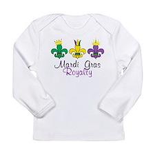 Mardi Gras Royalty Long Sleeve Infant T-Shirt