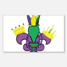 Mardi Gras Party Decal