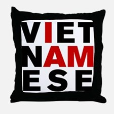 I AM VIETNAMESE Throw Pillow