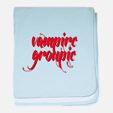 Vampire Groupie baby blanket