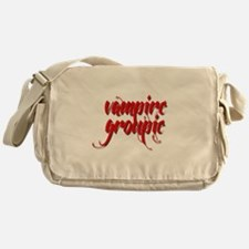Vampire Groupie Messenger Bag