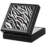 Zebra Stripes Keepsake Box