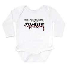 Massage Therapist Zombie Long Sleeve Infant Bodysu