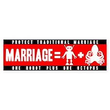 Marriage = Robot + Octopus