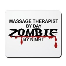 Massage Therapist Zombie Mousepad