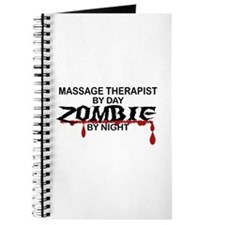 Massage Therapist Zombie Journal