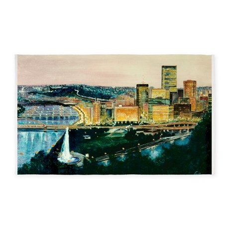 three rivers 23x35.png 3'x5' Area Rug