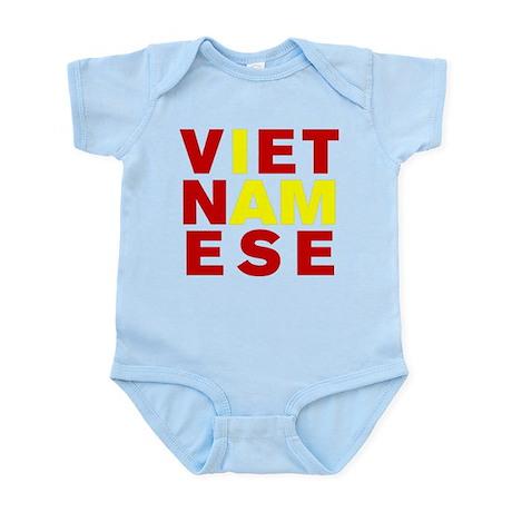 I AM VIETNAMESE Infant Bodysuit