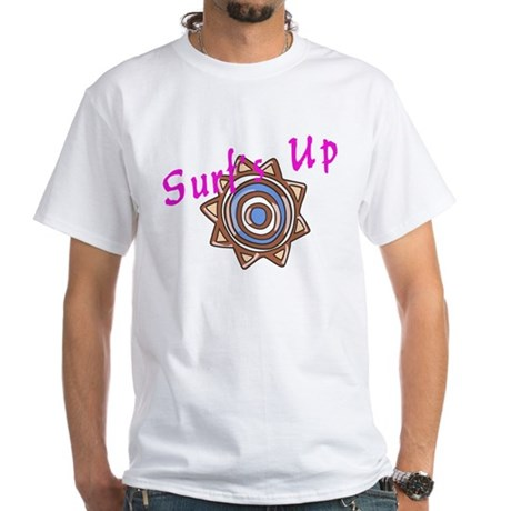 Surf's Up White T-Shirt