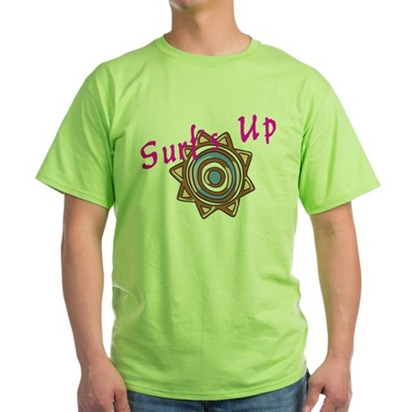Surf's Up Green T-Shirt