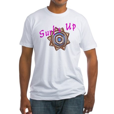 Surf's Up Fitted T-Shirt