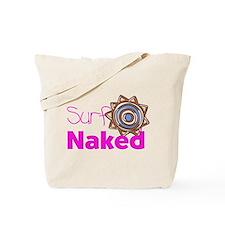 Surf Naked Tote Bag