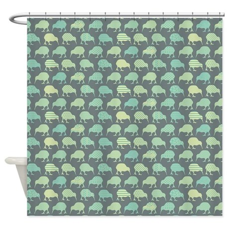 Flightless Fancy Shower Curtain By LaughingOwlDesign