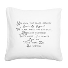 peterpan.png Square Canvas Pillow
