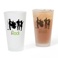 I Rock Drinking Glass
