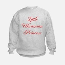 Little Ukrainian Princess Sweatshirt