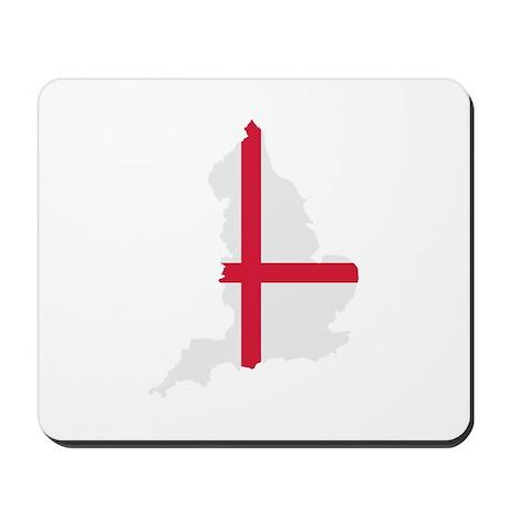 England map flag Mousepad