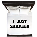 Just Sharted King Duvet