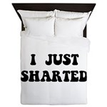 Just Sharted Queen Duvet