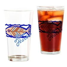 Blue Harbor Drinking Glass