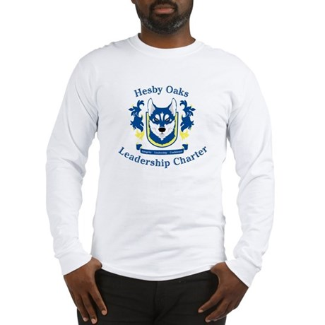 Hesby Oaks Formal Logo Long Sleeve T-Shirt